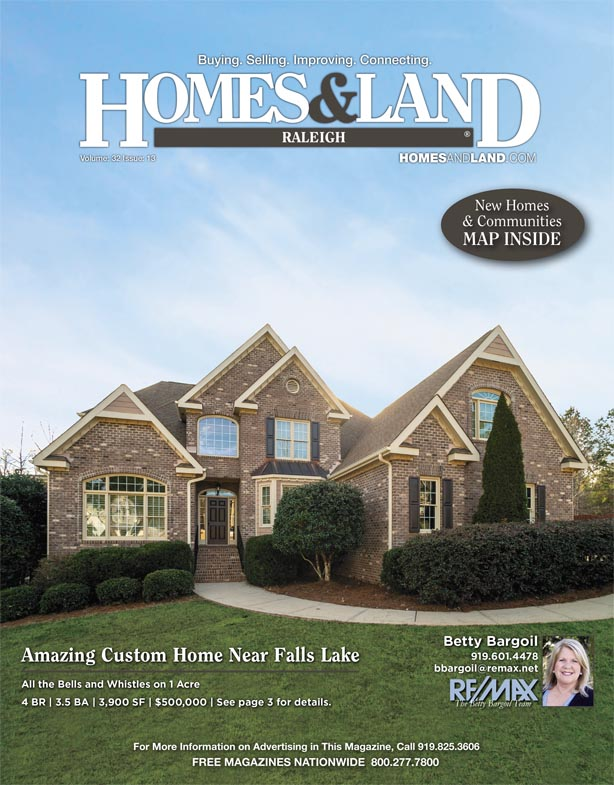 Homes & Land of Raleigh Magazine Cover